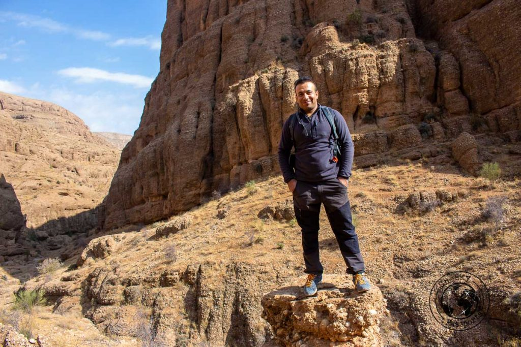 Afshar the guide in Ghalat