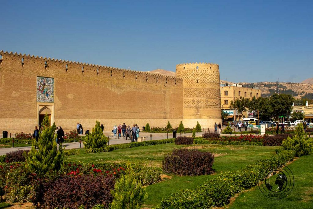 Arg of Karim Khan in the centre of Shira
