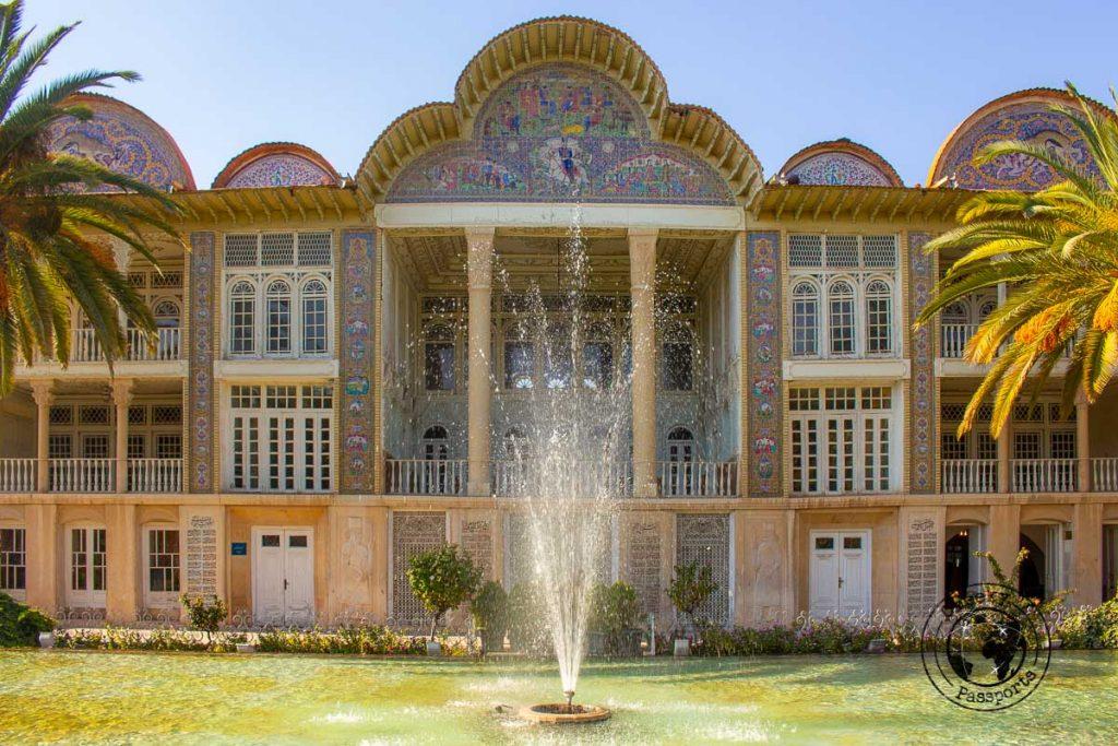 Bagh-e-Eram gardens in Shiraz