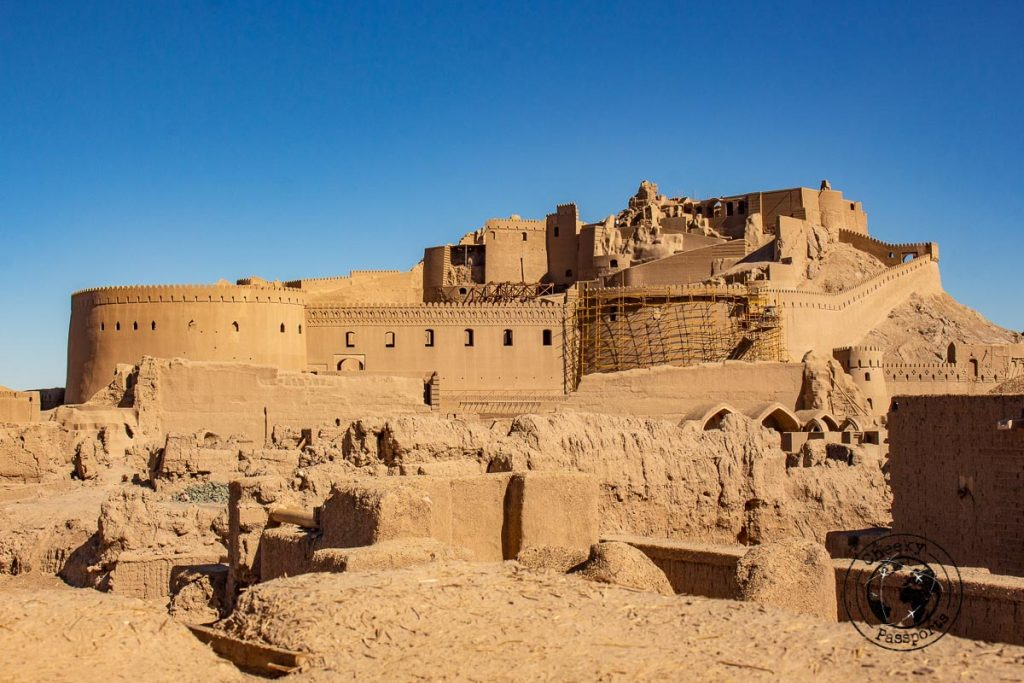 Bam Citadel is one of the most visited tourist spots in Iran