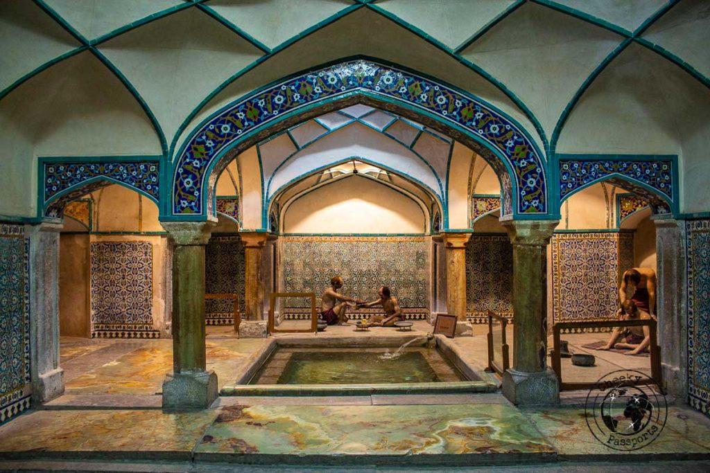 Bathouse at the Ganjali Khan Complex in Kerman