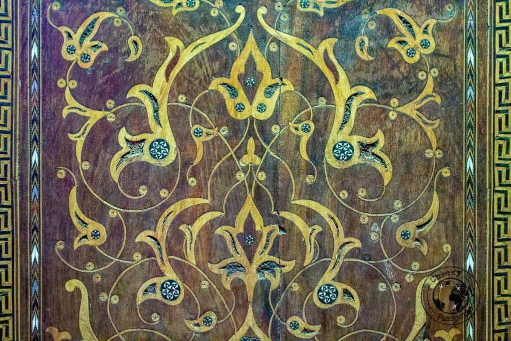 Detail at the Shah Nematollah Vali Shrine in Mahan near Kerman