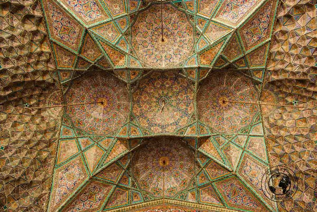 Detail at the Vakil Mosque