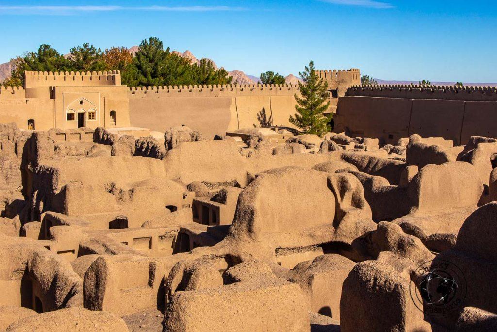 Inside the Rayen Castle in Kerman
