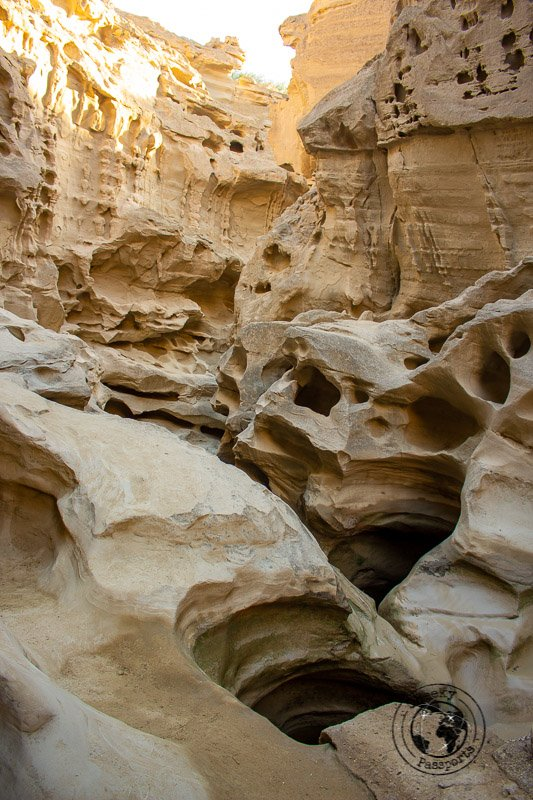 Lunar formations at the Chahkooh Canyon in Qeshm Island Iraq