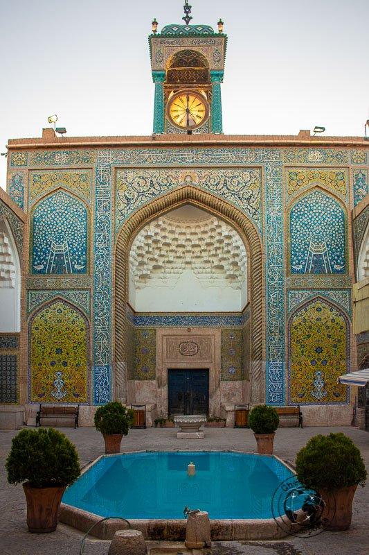 Mosque at the Ganjali Khan Complex in Kerman