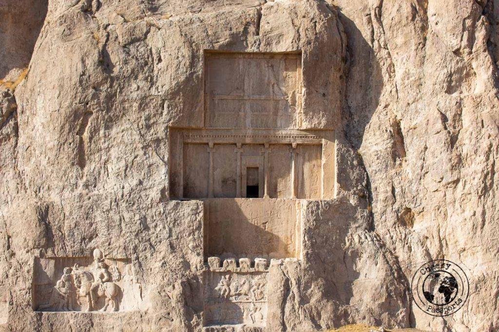 Naqsh-e Rostam - Tomb of Darius I, Travel Shiraz