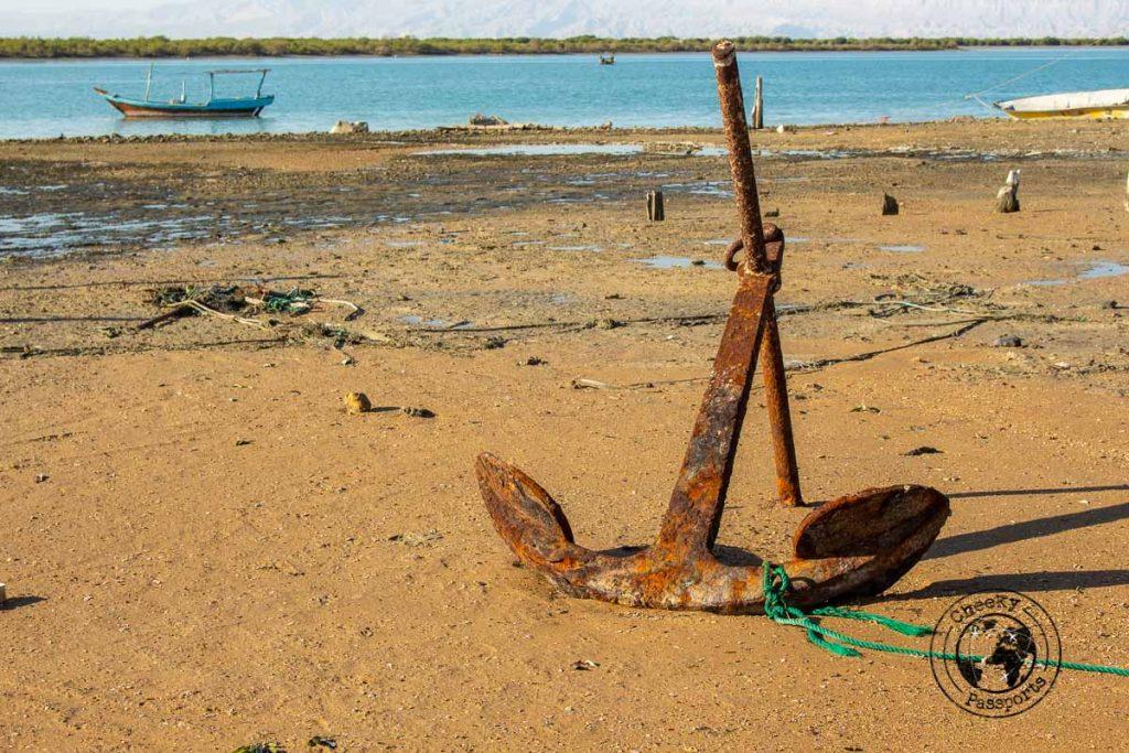 Old anchor in Qeshm