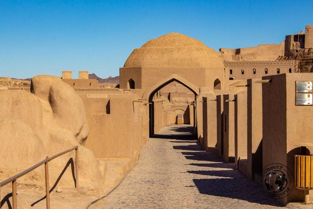 Passageways in the Bam Citadel