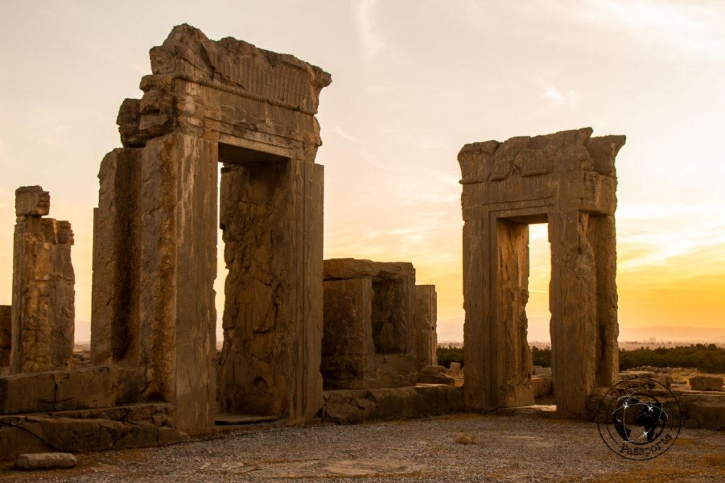 Persepolis at Sunset - Shiraz Travel