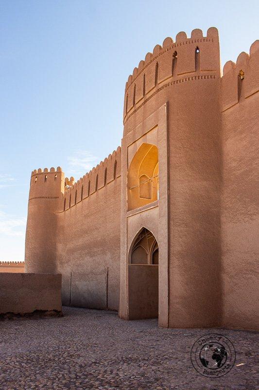 Rayen castle in Kerman