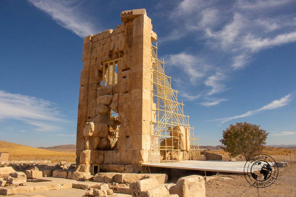 Remains at the Unesco Site of Pasargadae - travle shiraz
