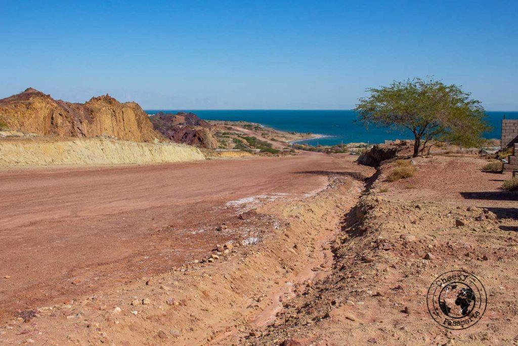Rough roads of Hormuz island