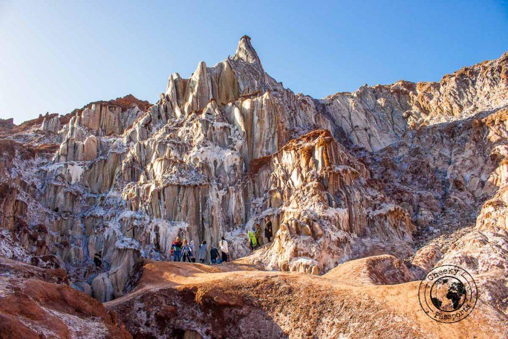 Salt Mountain - Salt Gaddess - Hormuz Island Travel