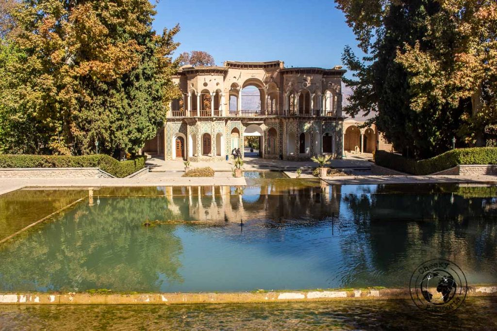 Shazdeh Garden in Kerman on our way from the kaluts