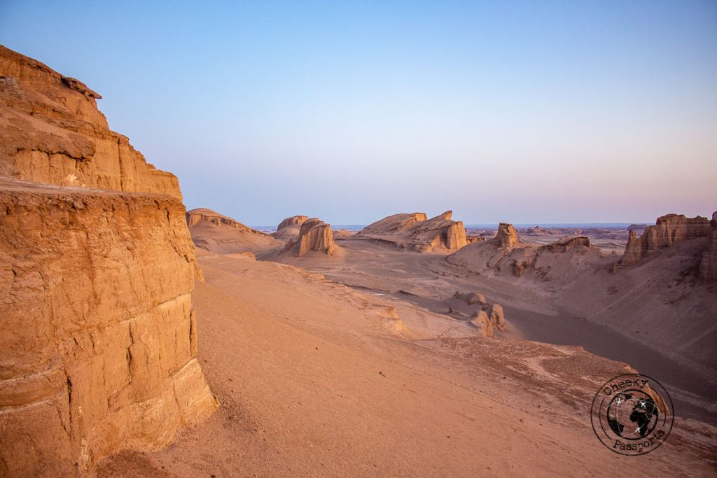 The Kaluts and the Shahdad desert in Kerman