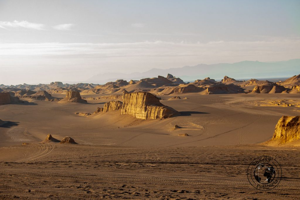 The Kaluts in the Shahdad Desert (Lut Desert  Dasht e Lut)