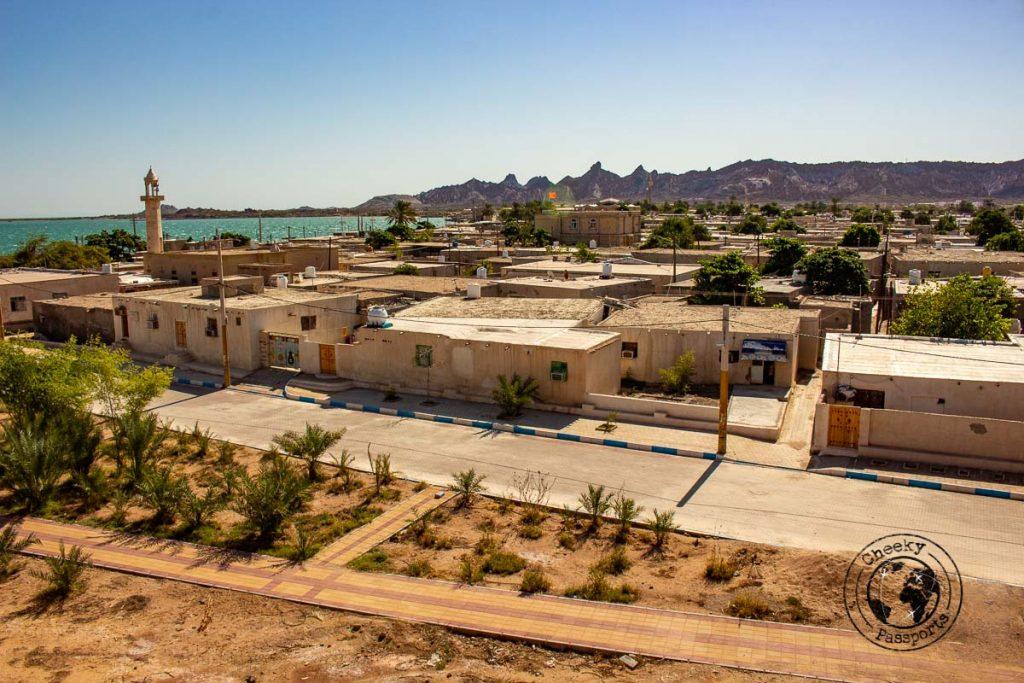 The main town of Hormuz
