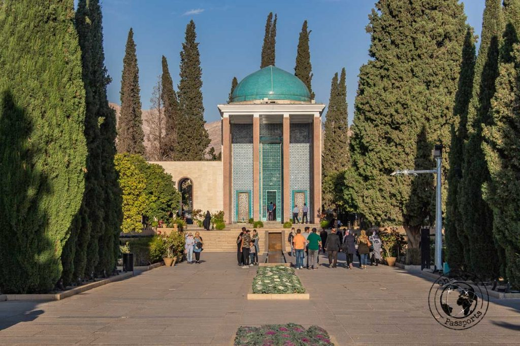 Tomb of the poet Saadi in Shiraz