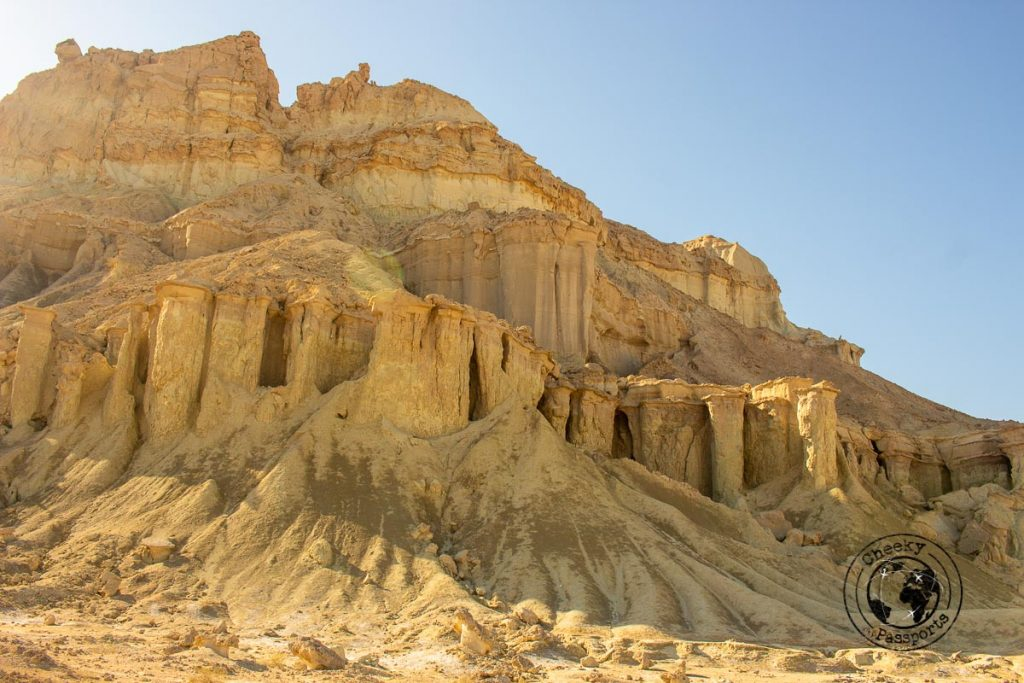 Valley of the statues in Qeshm island Iran