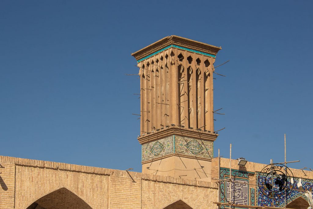 Wind Tower at the Ganjali Khan Complex in Kerman