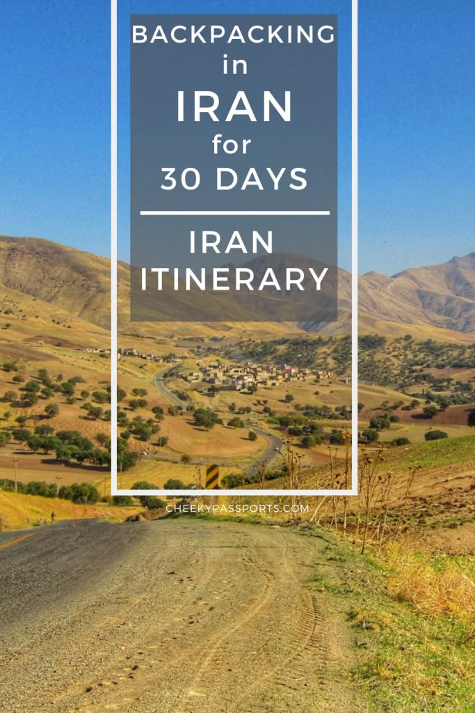 Having spent a total of 30 days backpacking in Iran, we feel that our Iran itinerary covers all the best places to visit in Iran! #iran #irantravel #iranissafe #toptouristattractions #tourism #travel #travelstoke #offthebeat #iran #attractions #worldheritage #kerman #unesco #worldheritage