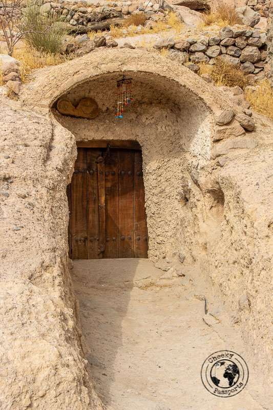 Cave dwellings of Meymand