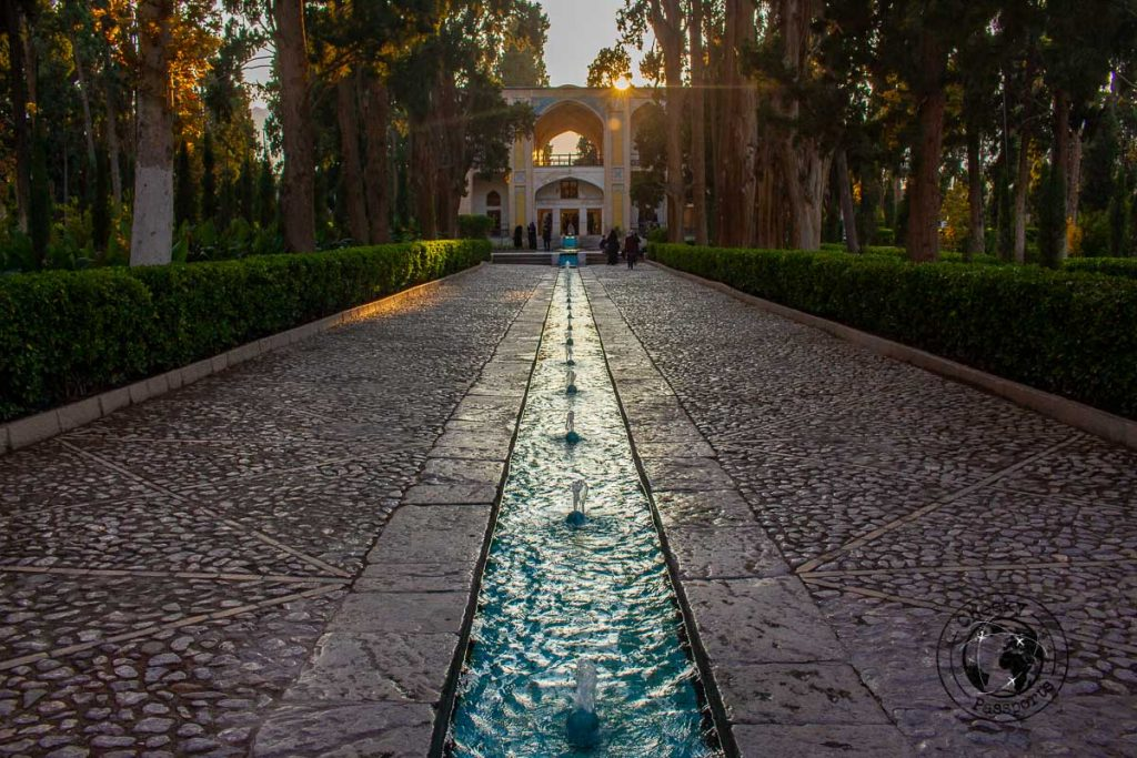 Fin garden is one of the most popular tourist spots in Iran