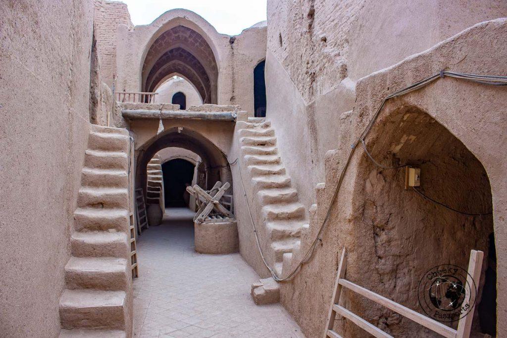 Inside Saryazd Fortress