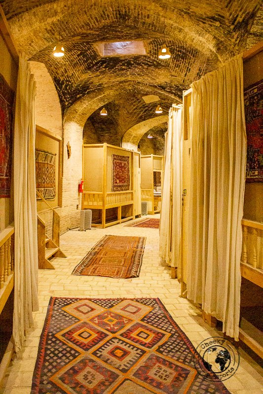 Inside the Caravansarai