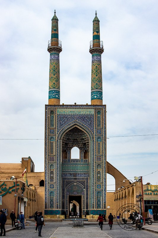 Jameh Mosque in Yazd