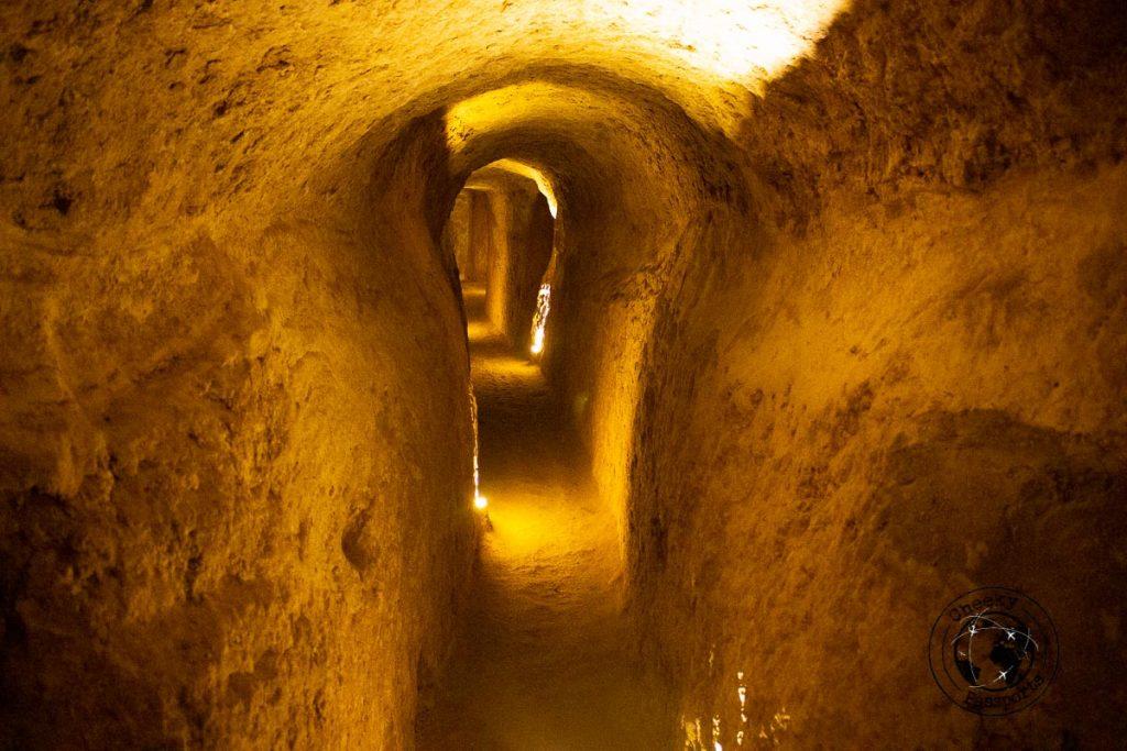 Nushabad underground city - near Kashan Iran