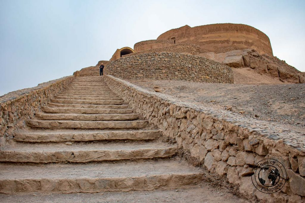 Towers of silence in Yazd are one of the most beautiful places to visit in Iran