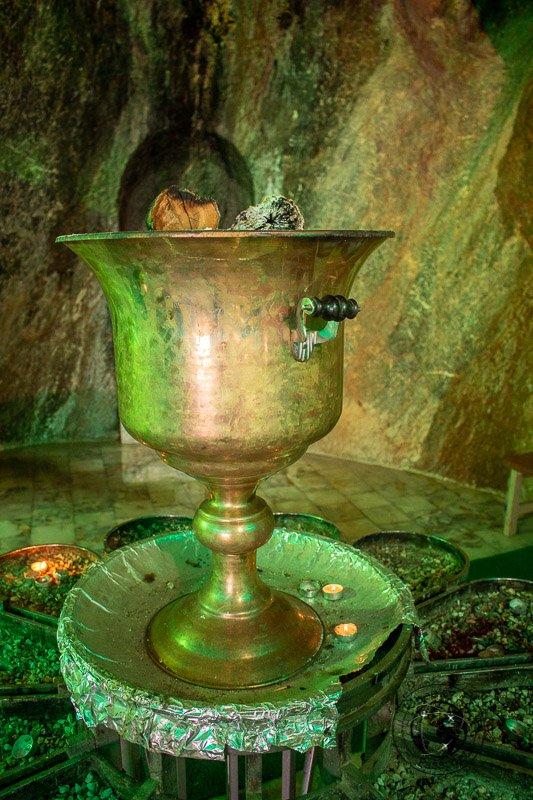 Zoroastrian Fire in Chak Chak